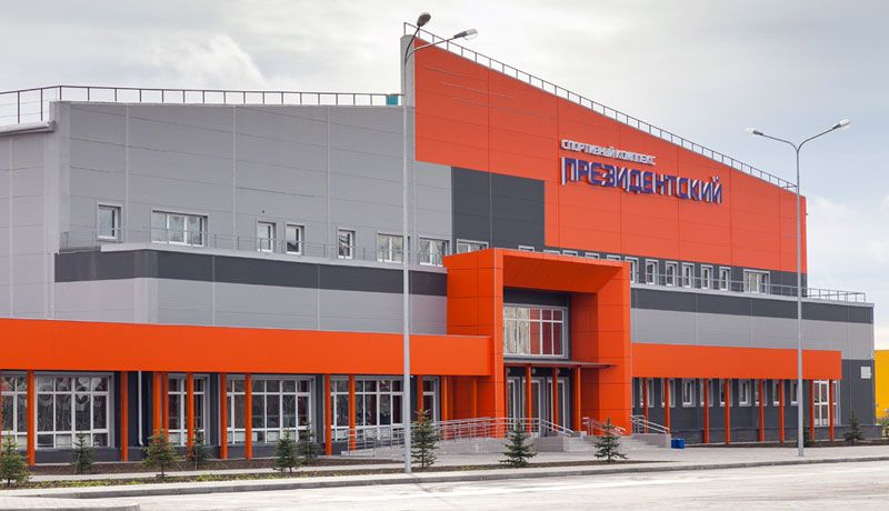 Construction of fitness and health centre in Nizhny Tagil