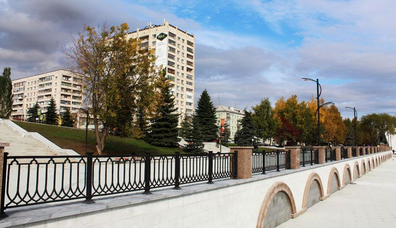 "Creating favourable conditions for development of recreation area ""Promenade ""Tagil Lagoon"""